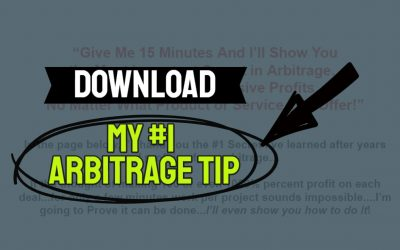 My #1 Tip For Success With Arbitrage