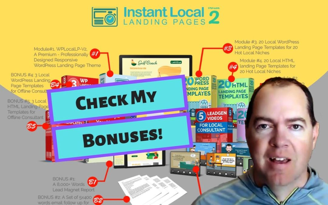 Instant Local Landing Pages Review and Bonuses