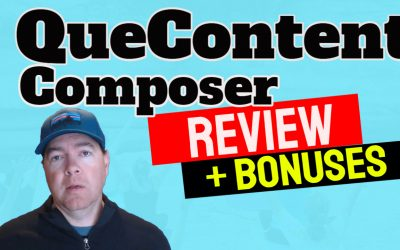 QueContent Composer Review + Bonuses!